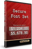 Secure Fonts Box